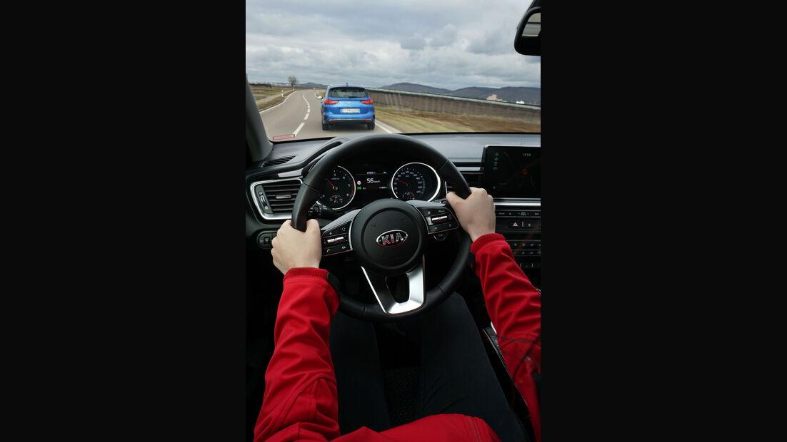 Kia Ceed Sportswagon 1.4 T-GDI & 1.6 CRDi, innenraum
