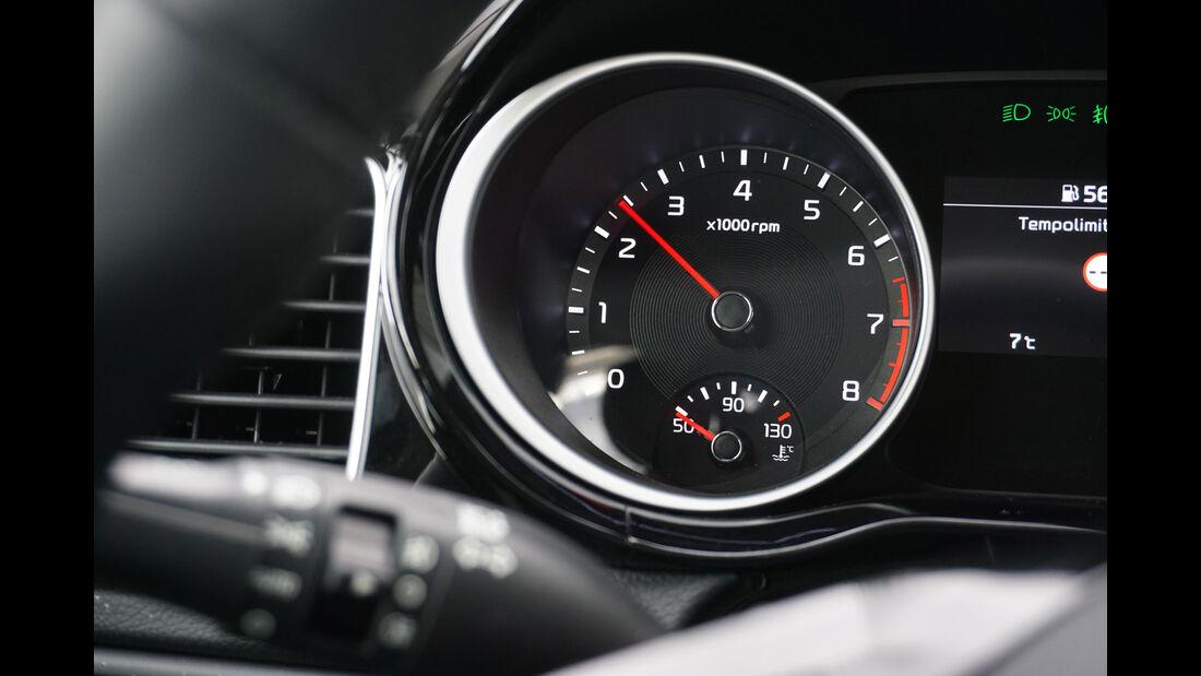 Kia Ceed Sportswagon 1.4 T-GDI, Drehzahlmesser