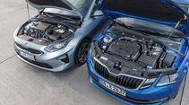 Kia Ceed Sportswagon 1.4 T-GDI Platinum Edition, Skoda Octavia Combi 1.5 TSI ACT Style, Exterieur
