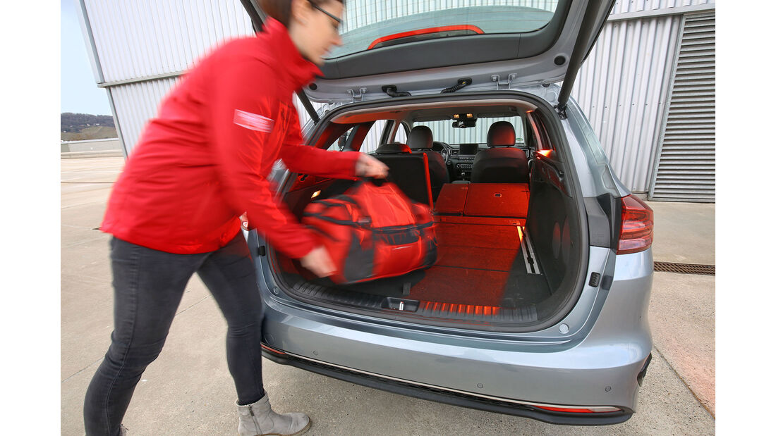Kia Ceed Sportswagon 1.6 CRDi, Kofferraum