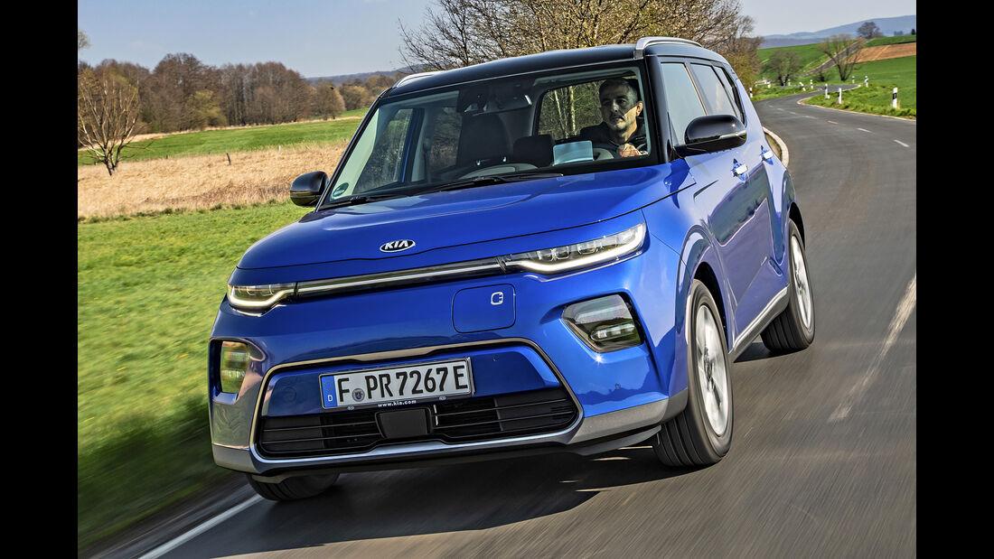 Kia E-Soul, Best Cars 2020, Kategorie I Kompakte SUV/Geländewagen