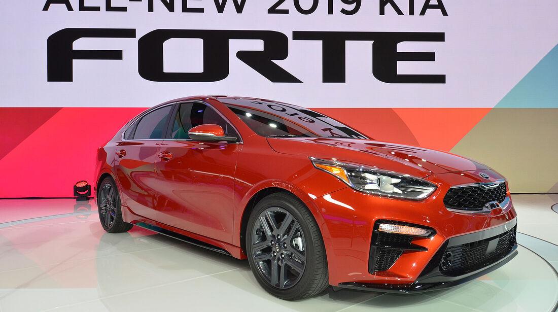 Kia Forte Limousine 2018 USA