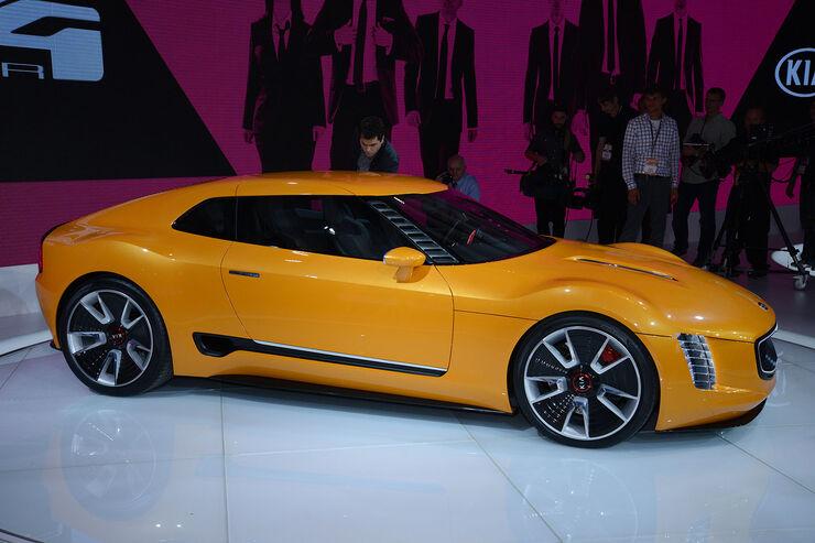 Kia GT4 Stinger Concept Detroit 2014
