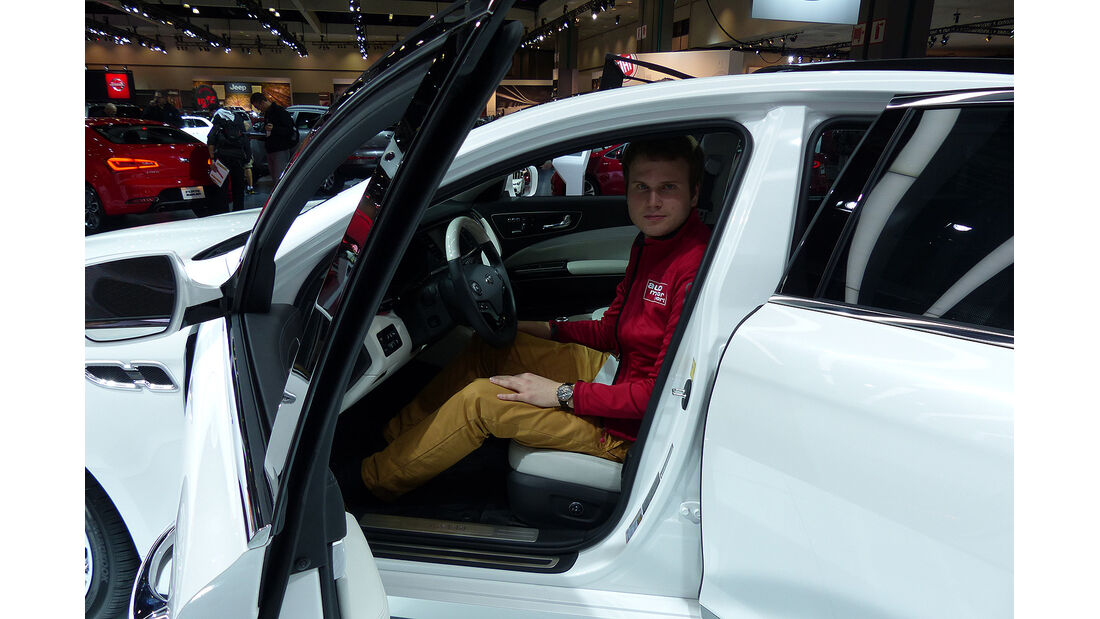 Kia K900, L.A. Auto Show
