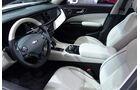 Kia K900, L.A. Auto Show, Cockpit, Innenraum