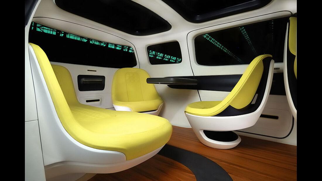 Kia KV7 Concept, Detail, Innenraum