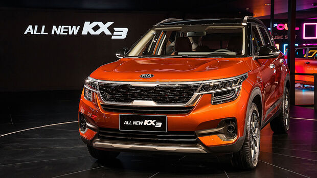 Kia KX3 China