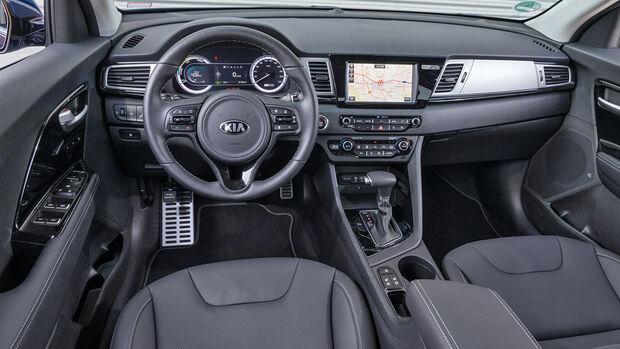 Kia Niro 1.6 GDI, Cockpit