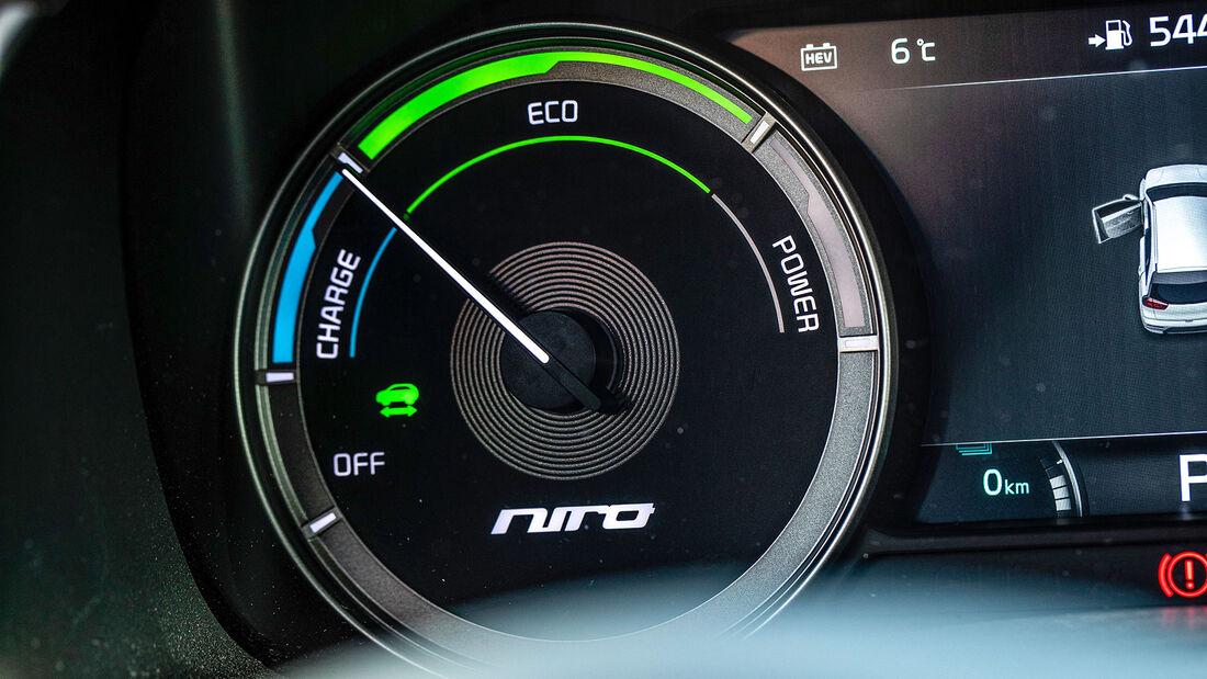 Kia Niro 1.6 GDI PHEV, Dauertest
