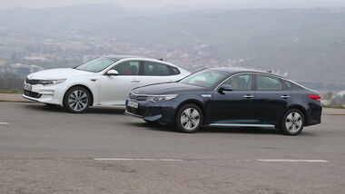 Kia Optima 1.7 CRDi, Kia Optima 2.0 GDI Plug-in