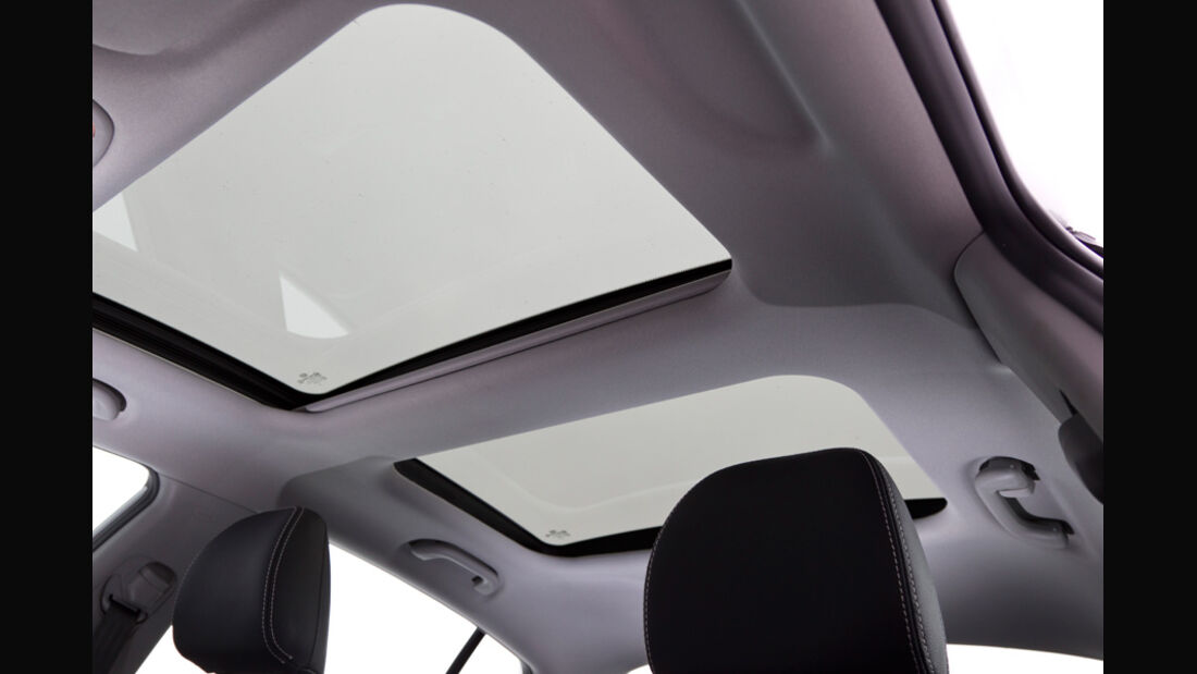Kia Optima 1.7 CRDi Spirit, Dachfenster