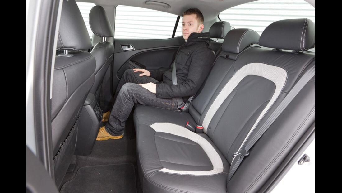 Kia Optima 1.7 CRDi Spirit, Fahrersitz