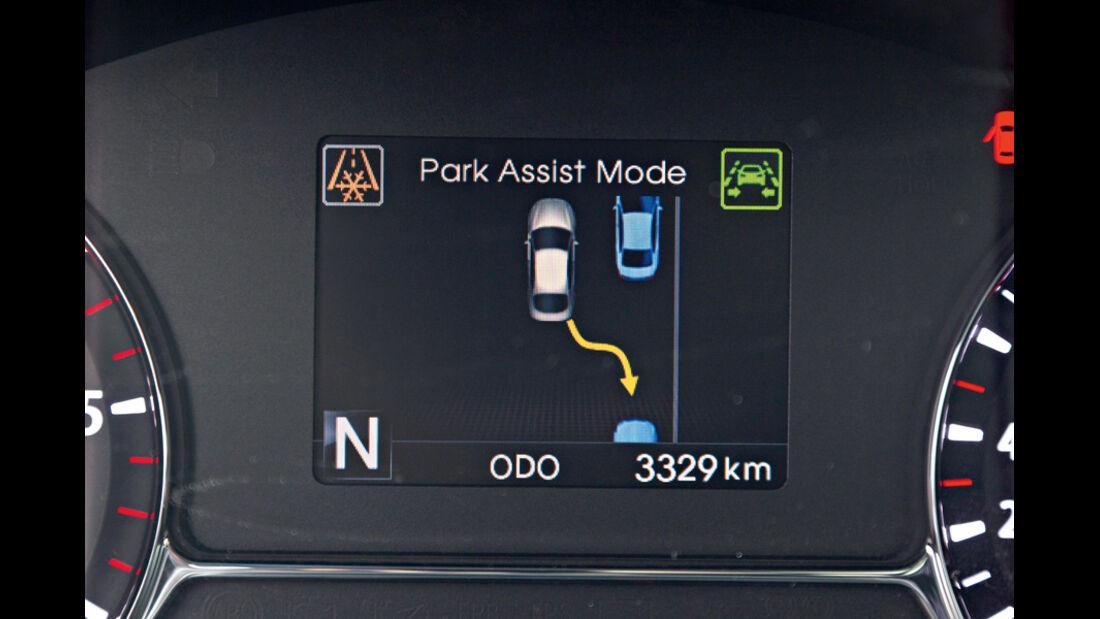 Kia Optima 1.7 CRDi Spirit, Parkassistent