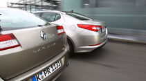 Kia Optima 1.7 CRDi Spirit, Renault Laguna Energy dCi 150, Heckpartie
