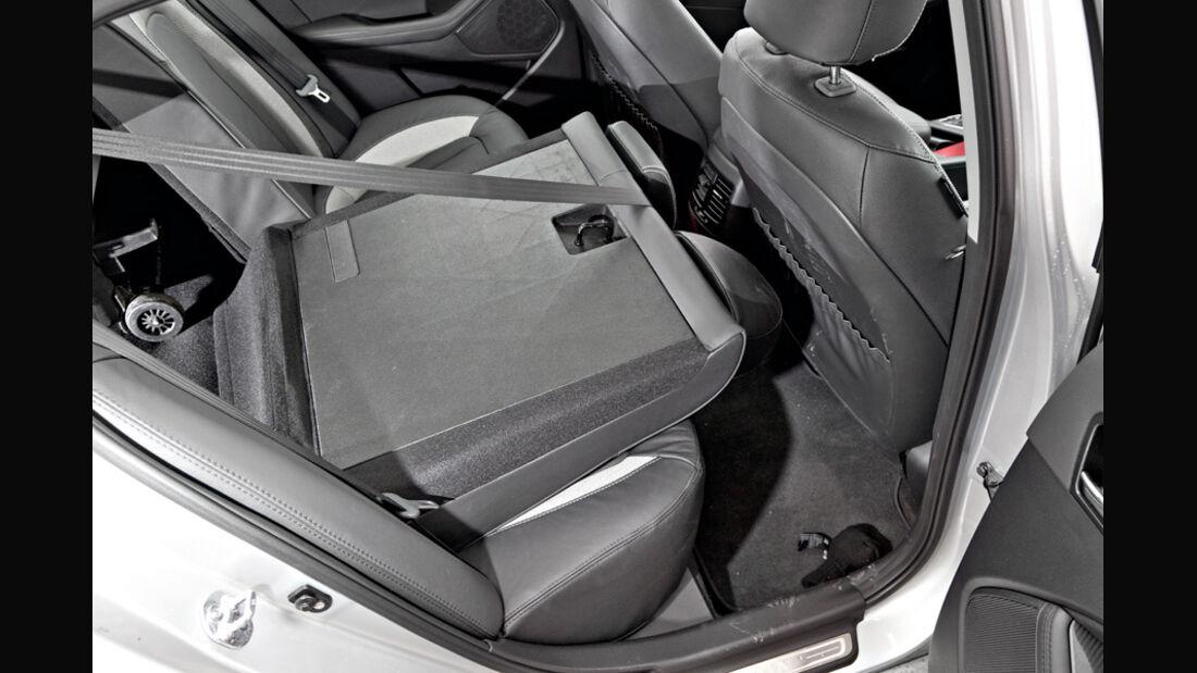 Kia Optima 1.7 CRDi Spirit, Rücksitz, Rückbank