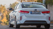 Kia Optima 2.0 GDI Plug-in, Heckansicht