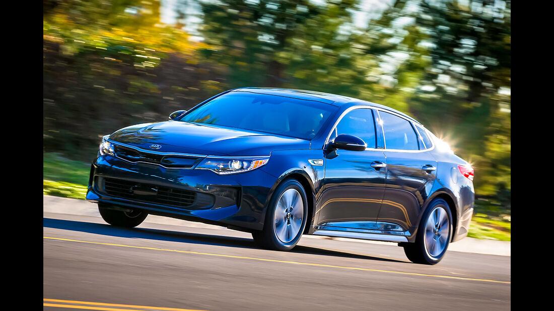 Kia Optima Hybrid USA