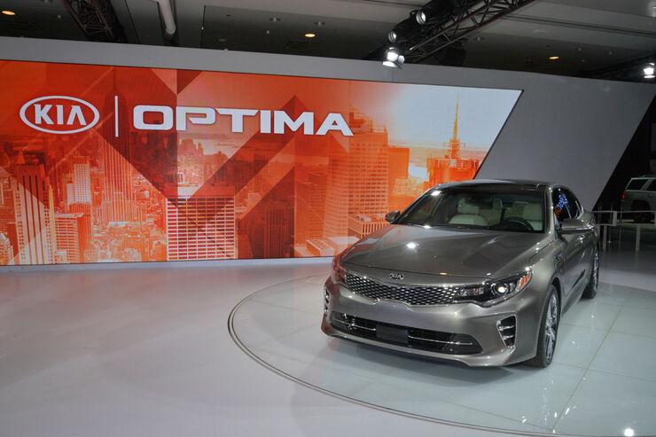 Kia Optima - New York Auto Show 2015