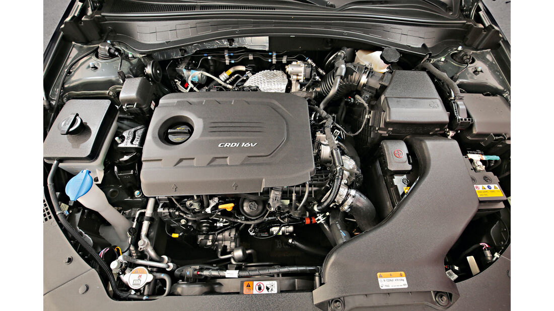 Kia Optima SW 1.7 CRDi, Motor