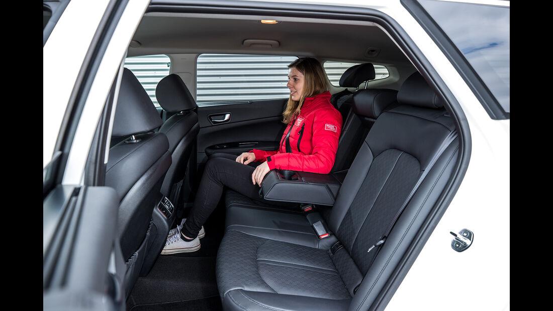Kia Optima Sportswagon Plug-in-Hybrid, Interieur