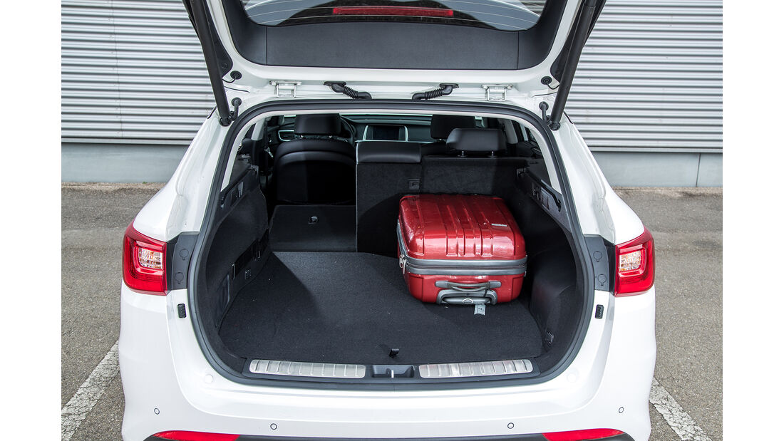Kia Optima Sportswagon Plug-in-Hybrid, Kofferraum
