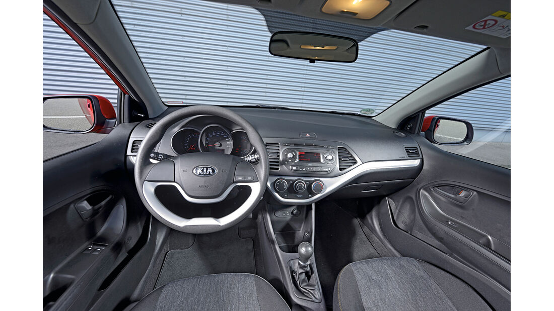 Kia Picanto 1.0 Edition, Cockpit