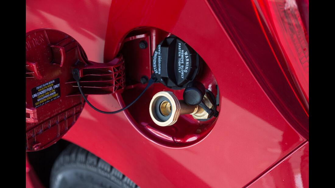 Kia Picanto 1.0 LPG, Gastank, Tankanschluss