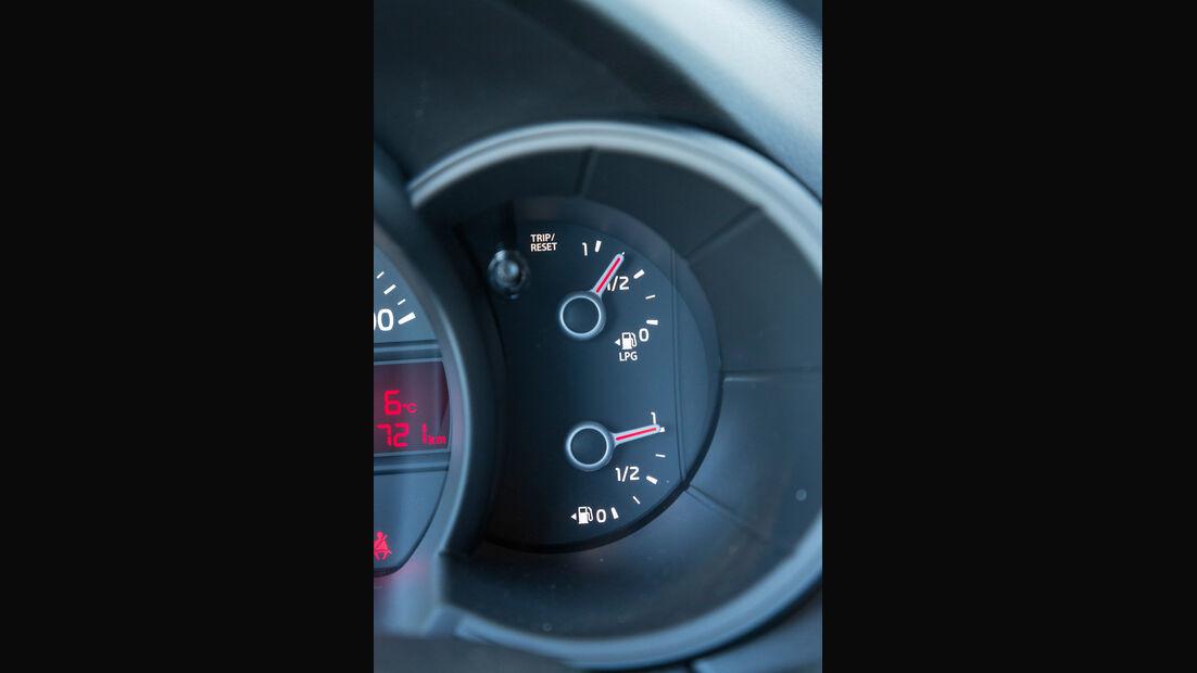 Kia Picanto 1.0 LPG, Rundinstrument