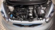 Kia Picanto 1.0, Motorraum