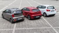 Kia Picanto 1.2 CVVT, Kia Rio 1.4 CVVT, Kia Venga 1.4 CVVT