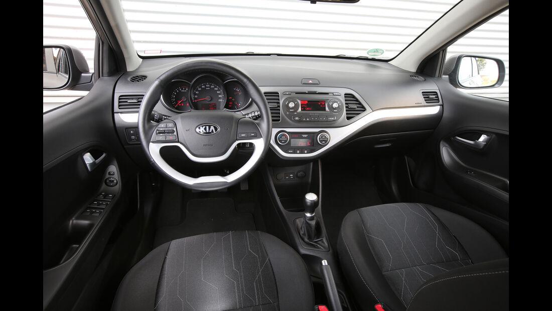Kia Picanto 1.2, Cockpit