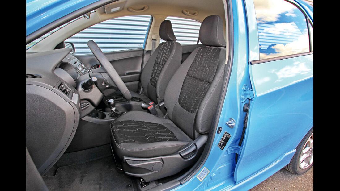 Kia Picanto ISG Spirit, Fahrersitz