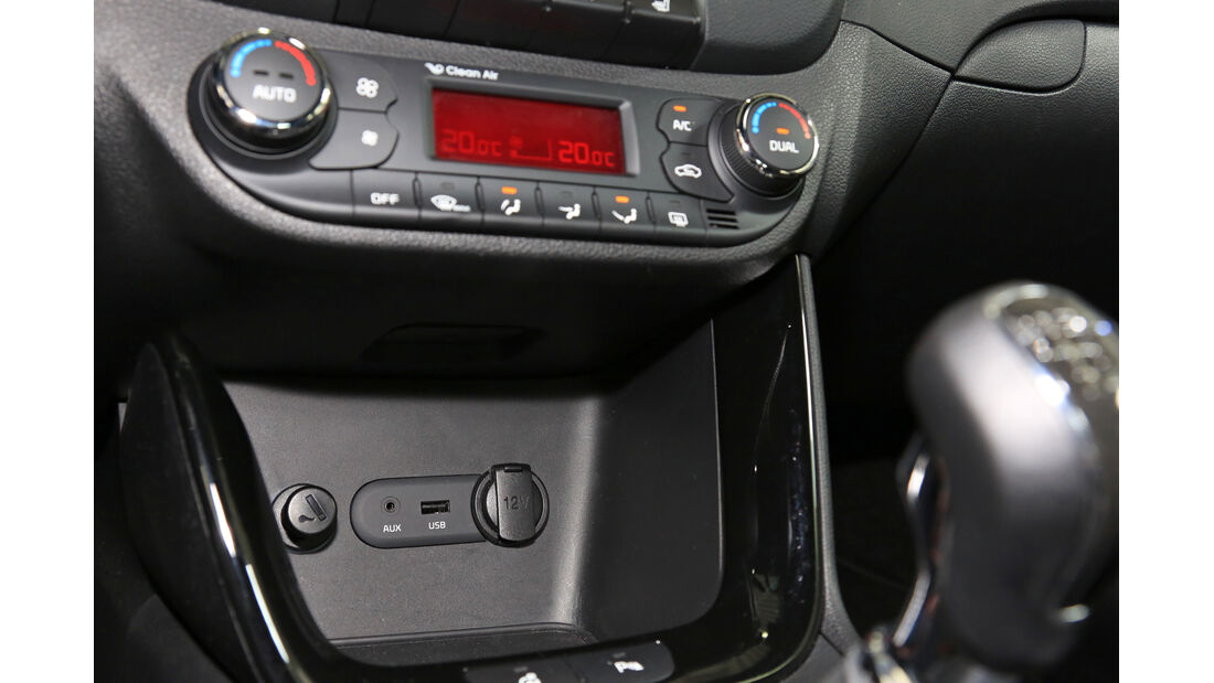 Kia Pro Cee 'd 1.6 CRDi 128 Spirit, Mittelkonsole