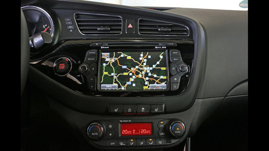 Kia Pro Cee 'd 1.6 CRDi 128 Spirit, Navi, Display