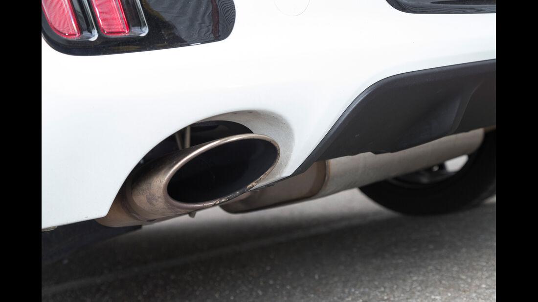 Kia Pro Cee'd GT Track, Auspuff, Endrohr