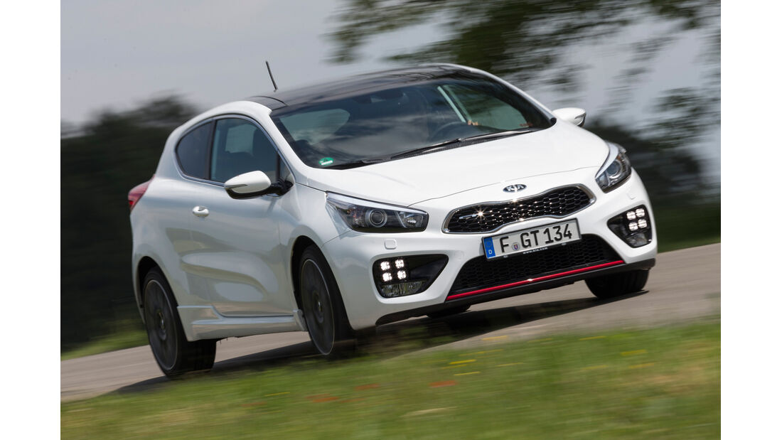 Kia Pro Cee'd GT Track, Frontansicht