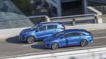 Kia ProCeed 1.6 T-GDI, Kia Sportage 1.6 T-GDI 4WD, Exterieur