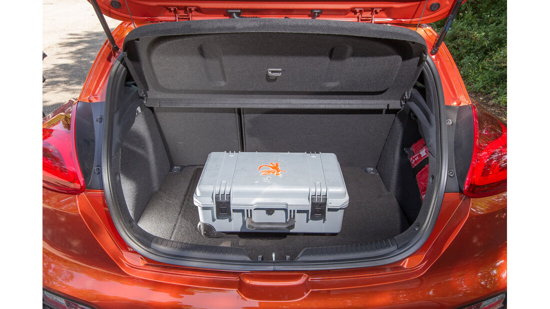 Kia Procee'd 1.6 GDI, Kofferraum