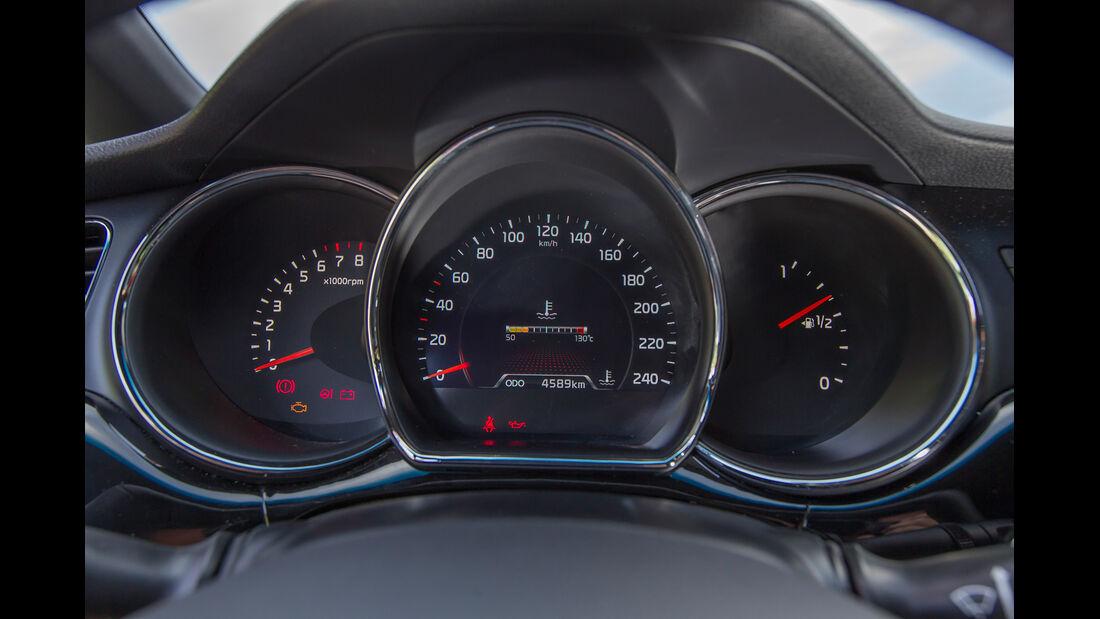 Kia Procee'd 1.6 GDI, Rundinstrumente