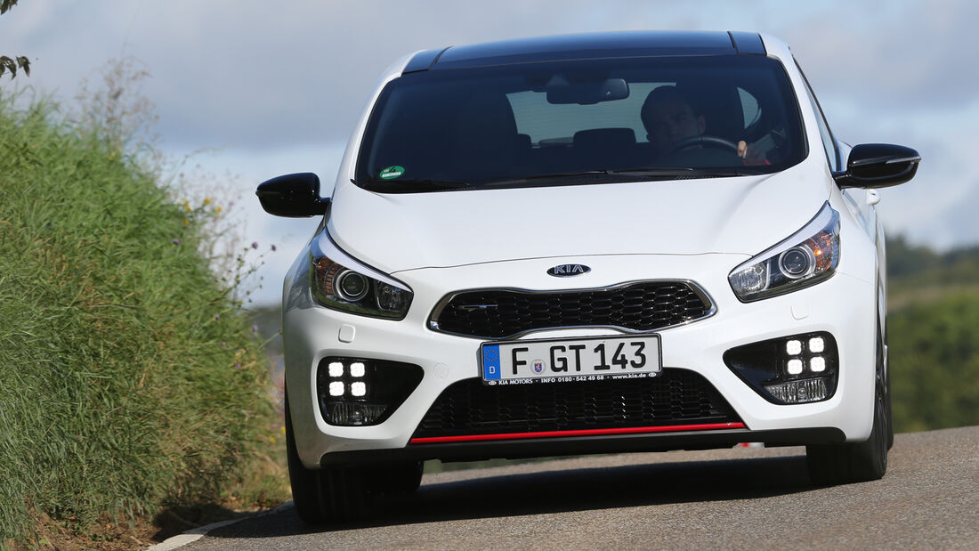 Kia Procee'd GT, Frontansicht