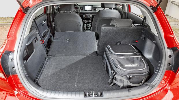 Kia Rio 1.0 T-GDI 100, Kofferraum