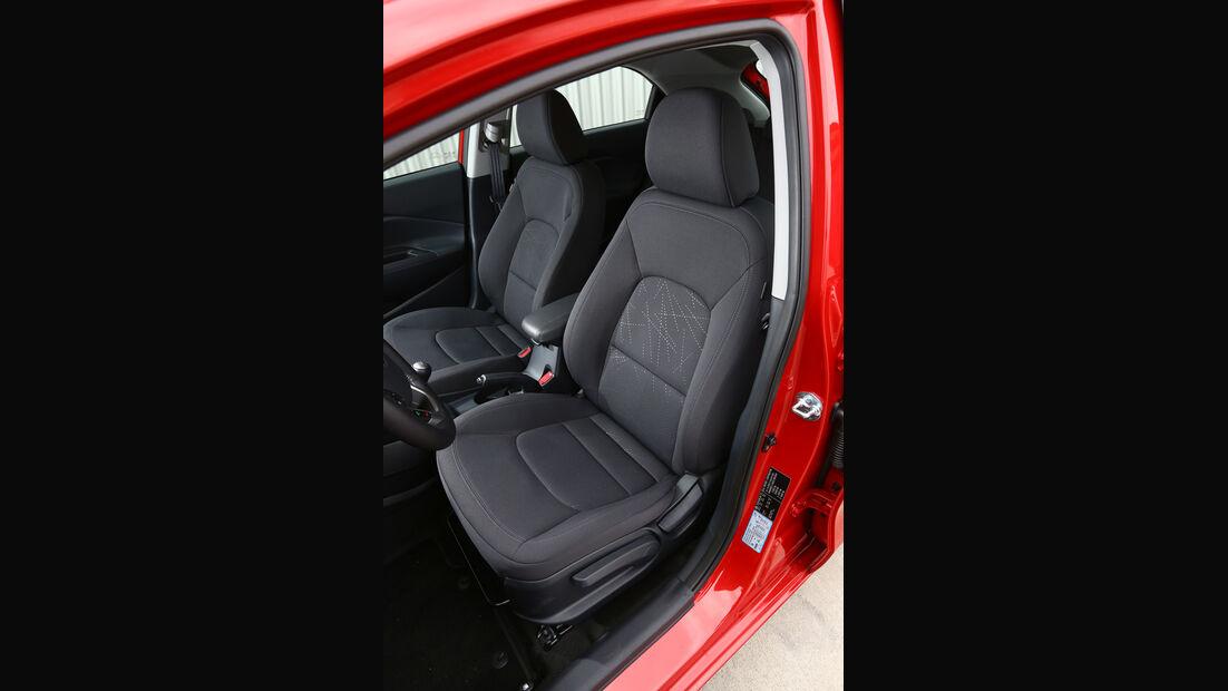 Kia Rio 1.2 Spirit, Fahrersitz