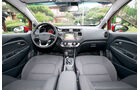 Kia Rio, Cockpit, Frontfenster