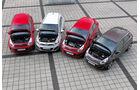 Kia Rio, Kia Rio, Verschiedene Modelle, Motorhaube