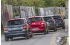 Kia Rio, Nissan Micra, Skoda Fabia, Suzuki Swift
