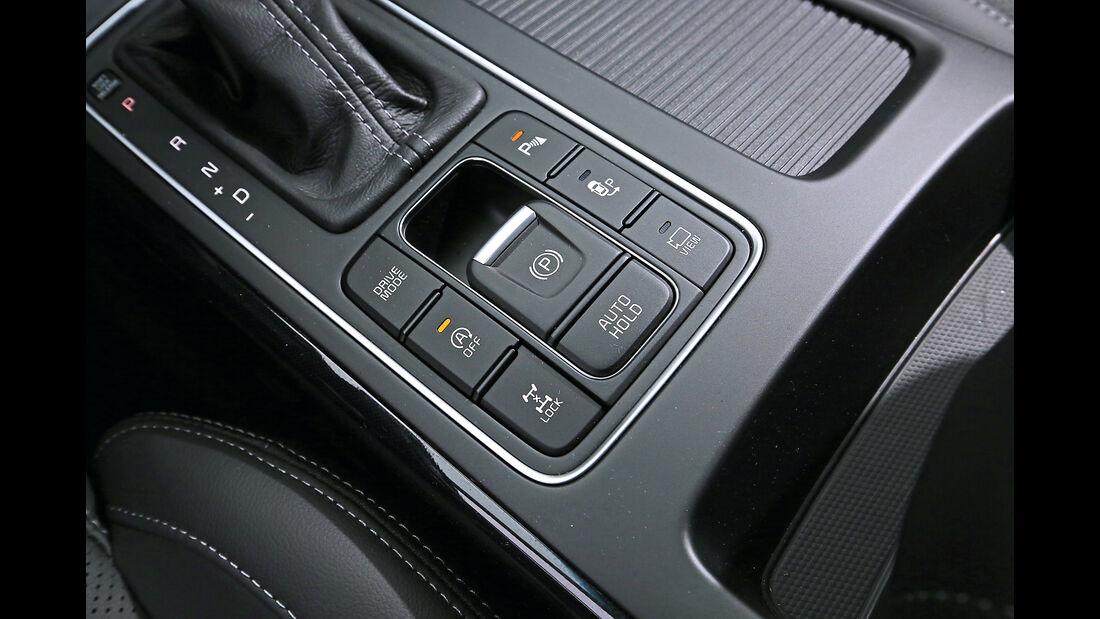 Kia Sorento 2.2 CRDi 4WD, Bedienelemente