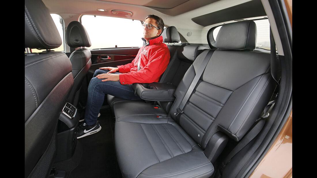 Kia Sorento 2.2 CRDi 4WD, Fondsitze