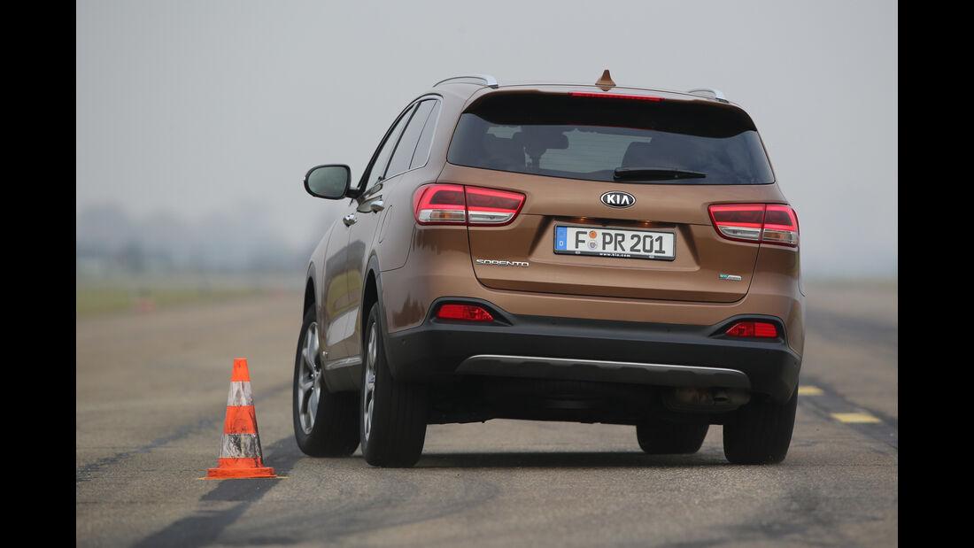 Kia Sorento 2.2 CRDi 4WD, Heckansicht