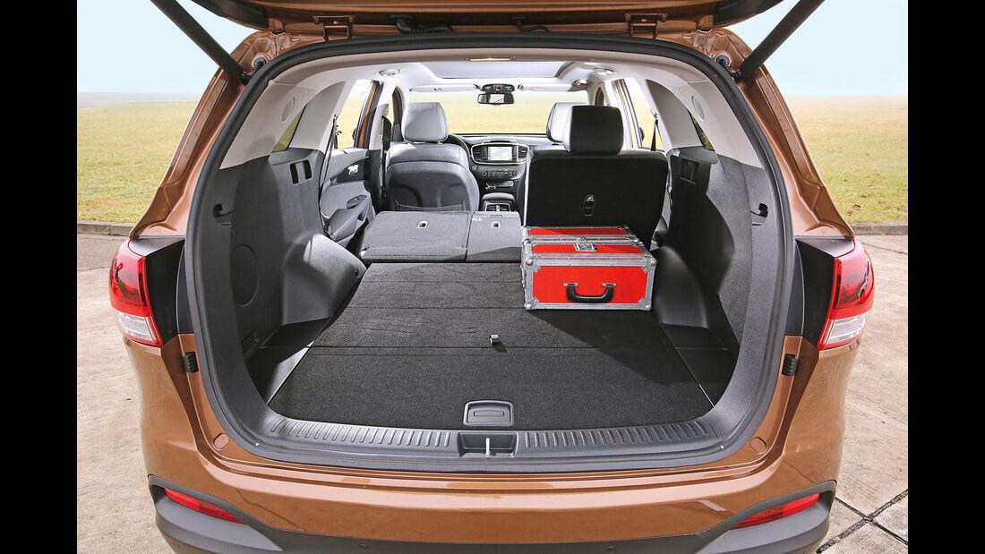 Kia Sorento 2.2 CRDi 4WD, Kofferraum