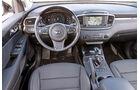 Kia Sorento 2.2 CRDi, Cockpit